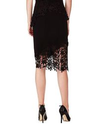 Marciano Black Lace Skirt