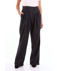 R13 Classic Anthracite Trousers - Black