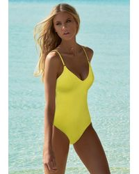 Melissa Odabash Bora Bora Swimsuit Lemon - Yellow