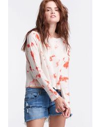 Lisa Todd The Spritz Sweater - Natural - Red