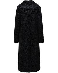 Unreal Fur Stardust Coat Inclusive - Black