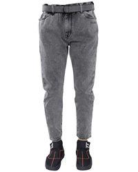 Off-White c/o Virgil Abloh Jeans In Grey