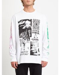 Volcom | Bits Of Brain T-shirt | White