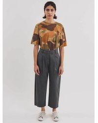 YMC Market Trouser In Slate - Gray