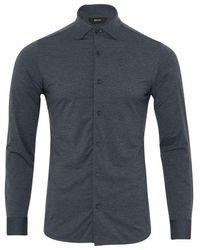 Z Zegna Gravity Shirt (dark Grey)