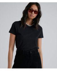 Afends Hemp Basics Standard Fit Tee - Black