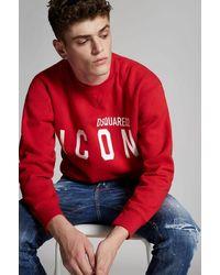 DSquared² Icon Sweatshirt - Red