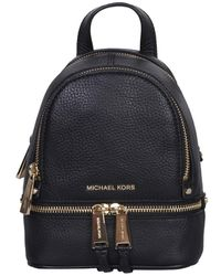 MICHAEL Michael Kors Mini Rhea Backpack - Black