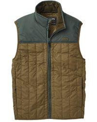 Filson Ultralight Vest Dark Olive / Dark Spruce - Green