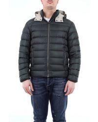 Colmar Semi-glossy Down Jacket With Detachable Hood - Grey