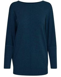 B.Young Bypimba Batwing Jumper Navy - Blue