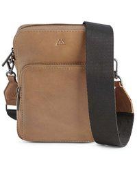 Markberg Bexley Crossbody Caramel & Black Bag - Multicolor