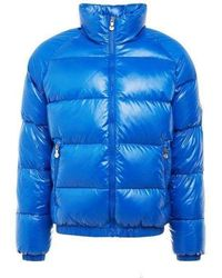 Pyrenex Vintage Mythic Jacket Shiny Adriatic - Blue