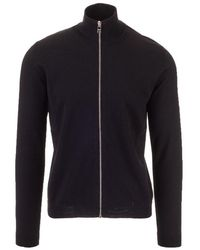 Prada Men's Umc975s1621lr5f0002 Black Wool Cardigan