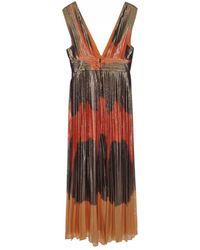 DHELA - Tricolore Maxi Dress - Lyst