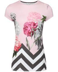 Ted Baker - Women's Eeidan Palace Gardens Fitted T-shirt - Lyst