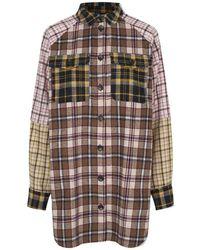 Munthe Pechelo Shirt Jacket - Mix - Brown