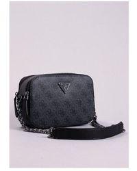 Guess Noelle Camera Bag Colour: Coal - Black