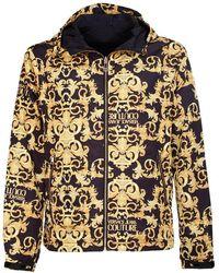 Versace Coats Black