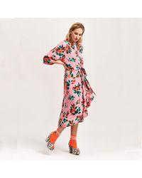 Essentiel Antwerp Vayen Dress - Pink Floral