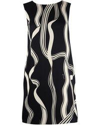 Marella Sora Art.365 Sleeveless Dress - Black