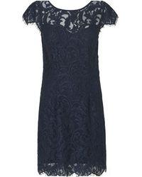 Rosemunde Provence Lace Dress Navy - Blue