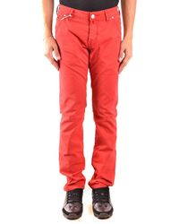 Jacob Cohen Jeans Regular - Red