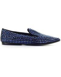 Eddy Daniele Leather Loafers - Black