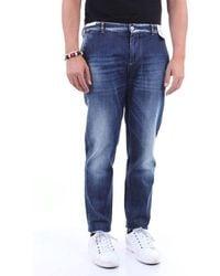 PT Torino Jeans Straight Men Dark Jeans - Blue
