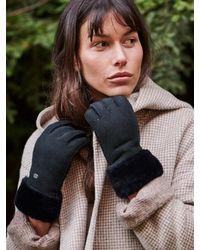 EMU Apollo Bay Sheepskin Gloves W9405 - Black