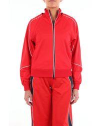 Iceberg Sweatshirt With Red Zip