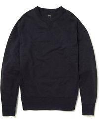 Albam - Crew Sweatshirt In Navy - Lyst