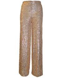 Jucca Pantalone Sequins - Pink
