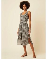Great Plains Sorella Dress In Black & White