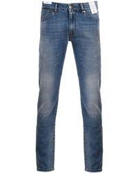 PT01 Men's Dj05z10bastx16ms91 Blue Cotton Jeans