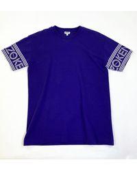 KENZO Sport Sleeve Logo T-shirt - Blue