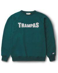 Karhu Trampas Logo Sweatshirt June Bug / Foggy Dew - Green