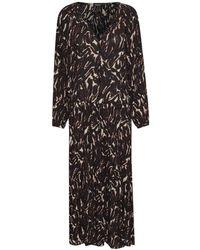 Soaked In Luxury Flowy Maxi Dress - Black