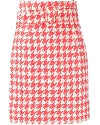 Sara Battaglia Colour Polyester Skirt - Multicolour