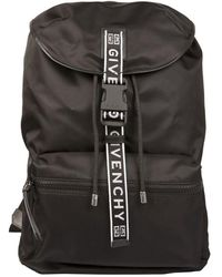 Givenchy Foldable Nylon Backpack - Black