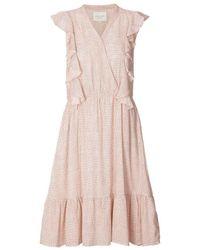 Lolly's Laundry Ramona Dress Pink Dot