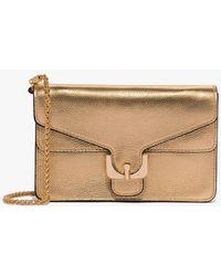Coccinelle Ambrine Clutch Bag Gold - Metallic