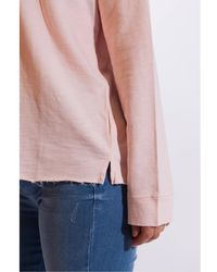 Hartford Tarael Fleece Top - Pink