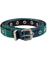 Philosophy By Lorenzo Serafini Belts - Blue