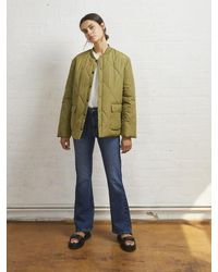 ALIGNE Ellyse Quilted Jacket , - Green