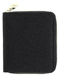 Borbonese Wallet Medium Bourbonnais - Black
