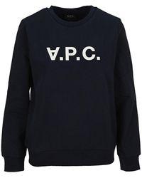A.P.C. Viva Sweatshirt - Blue