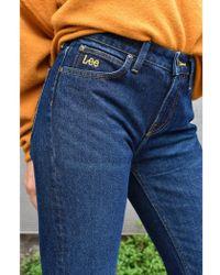 Lee Jeans Elly Buck Dark Jeans - Blue