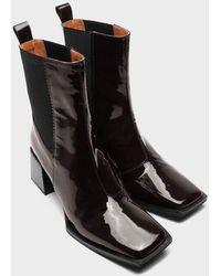 Twist & Tango Ghent Boots - Coffee Patent - Black