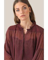 Second Female Tiny Long Sleeved Shirt - Purple